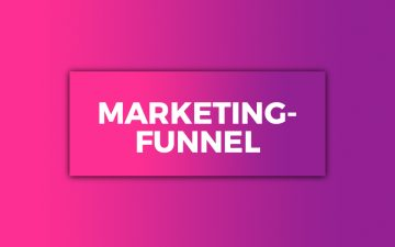Marketing-Funnels – Darstellung einer Online-Marketing-Strategie